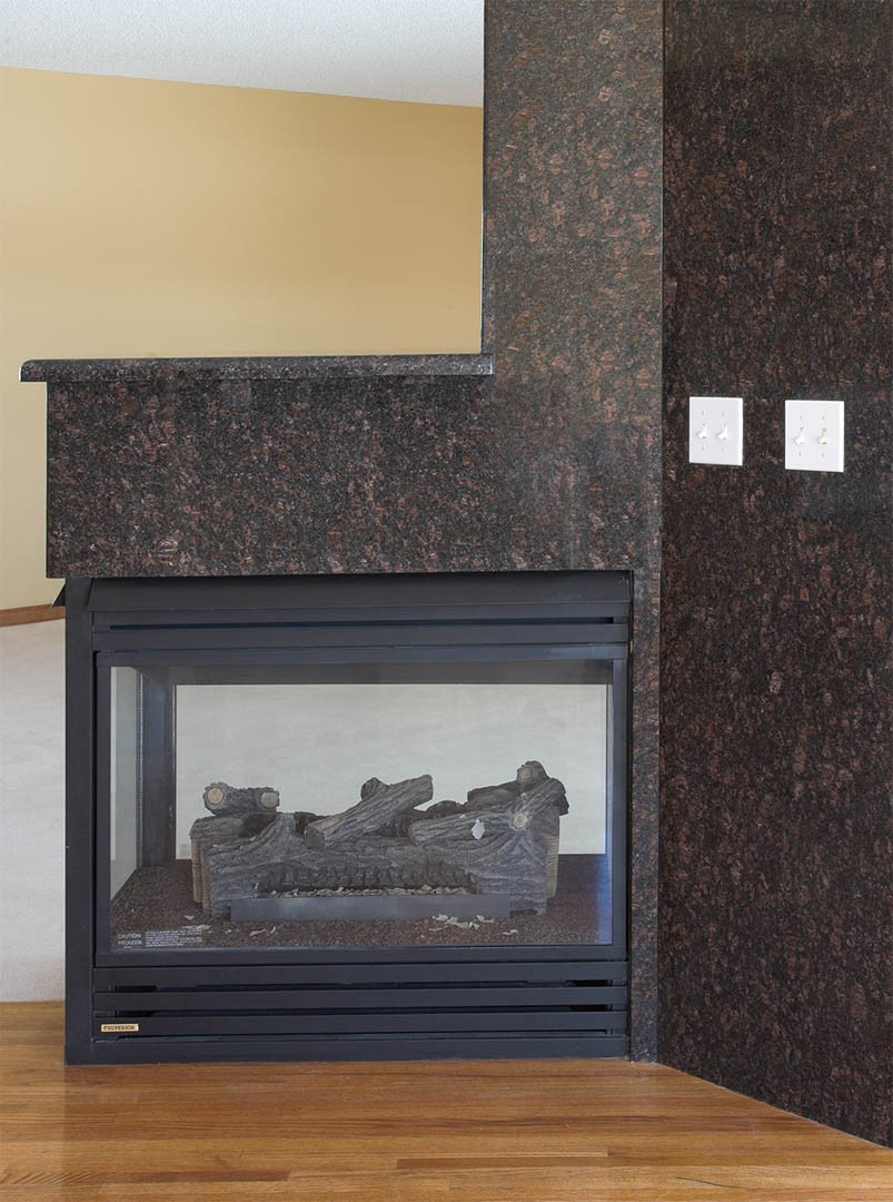 Calgary Stone Fireplaces by Silkstone and Granite